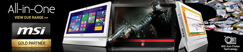 MSI all in one PCs