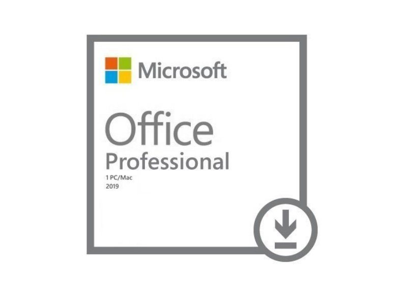 microsoft office professional 2019 - electronic download