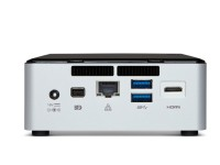 Intel nuc6i5syh rear
