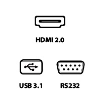 hdmi usb rs232